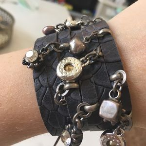 Jewelry - 2 for $20 Leather bracelet